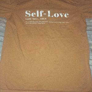 """Self Love"" definition shirt"